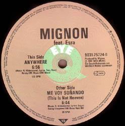 Mignon Feat. Esra - Me Voy Soñando