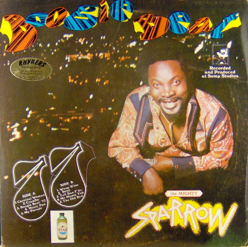 MIGHTY SPARROW - Boogie Beat 77 - LP