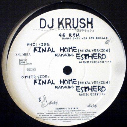 DJ Krush Final Home