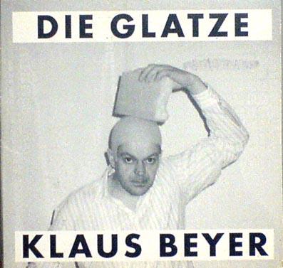 BEYER, KLAUS - Die Glatze - CD single
