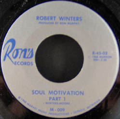 WINTERS, ROBERT - Soul Motivation Part 1 / Lileph - 7inch x 1