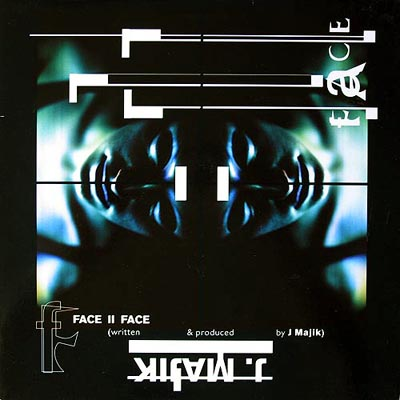 J MAJIK - Face II Face / Switch Back - Maxi x 1