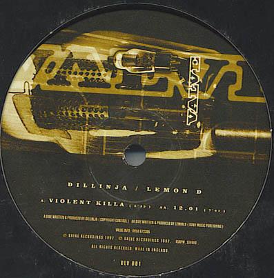 Dillinja & Batmix - Rushing Bassheads EP