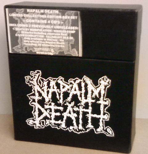 Napalm Death Limited Edition Collectors Box Set