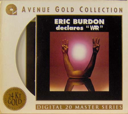 BURDON, ERIC AND WAR - Eric Burdon Declares War - CD
