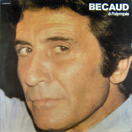 BECAUD, GILBERT - A L'Olympia - LP