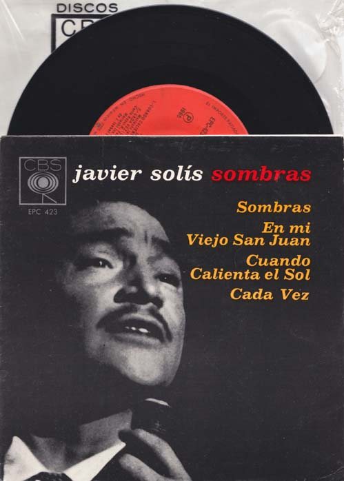 SOLIS, JAVIER - Sombras - 7inch x 1
