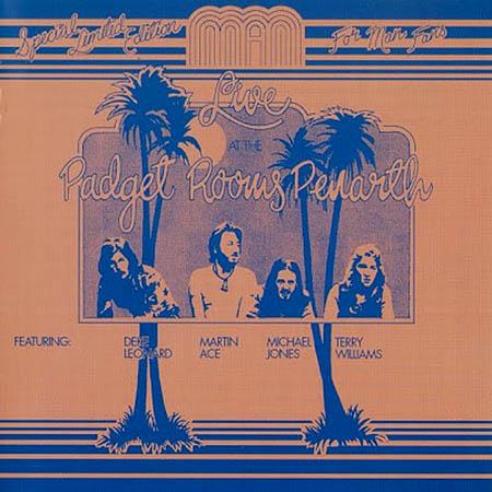 MAN - Live At The Padget Rooms, Penarth - LP