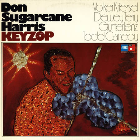 DON SUGARCANE HARRIS - Keyzop - LP
