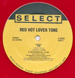 RED HOT LOVER TONE - #1 Player / 98 - Maxi x 1