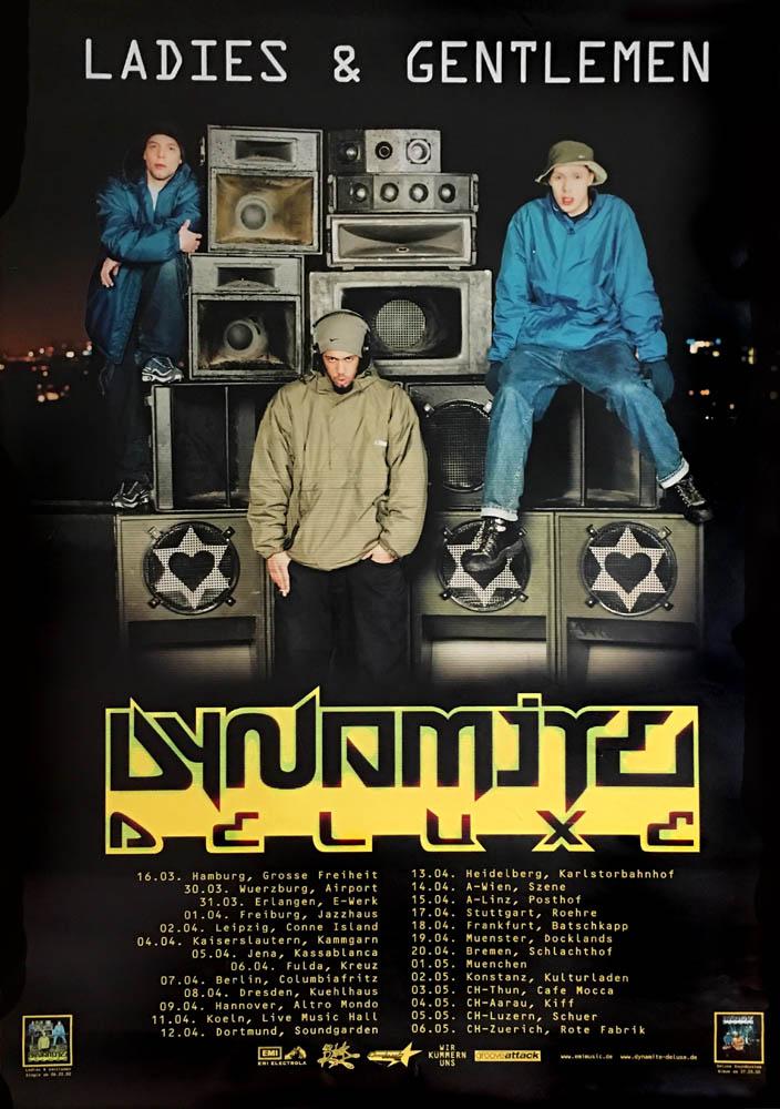 DYNAMITE DELUXE - Ladies & Gentlemen - Tour Poster - Poster / Affiche