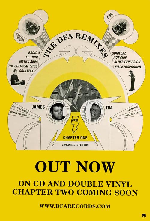 DFA - The DFA Remixes: Chapter One - Poster / Display