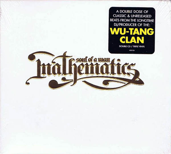 MATHEMATICS OF WU-TANG CLAN - Soul Of A Man - CD x 2