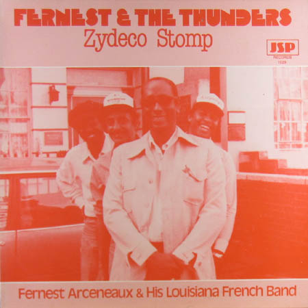 FERNEST AND THE THUNDERS - Zydeco Stomp - 33T