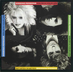 MISSING PERSONS - Color In Your Life - CD