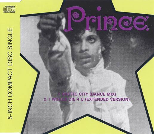 PRINCE - Erotic City - CD single