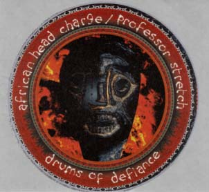 AFRICAN HEAD CHARGE VS. PROFESSOR STRETCH - Drums Of Defiance - Sticker - Autres