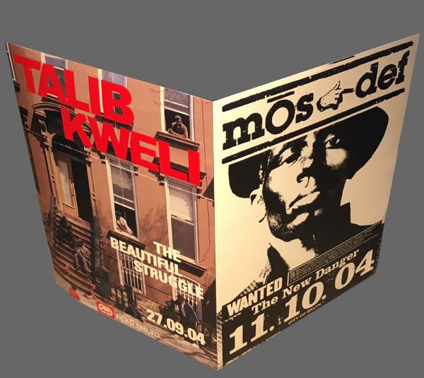 TALIB KWELI & MOS DEF - Pair of Stickers - Autres