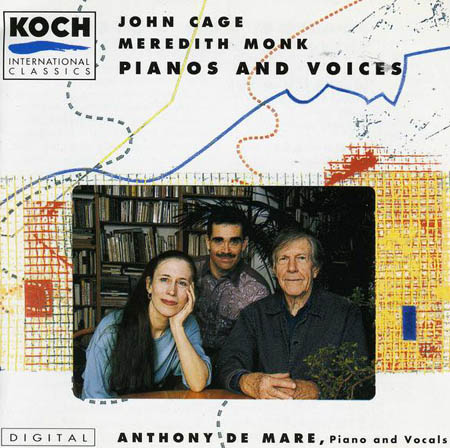 CAGE, JOHN / MEREDITH MONK - Pianos And Voices - CD