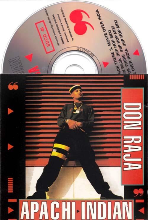 APACHE INDIAN - Don Raja - CD single